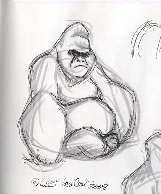 gorilla sketch - Google Search