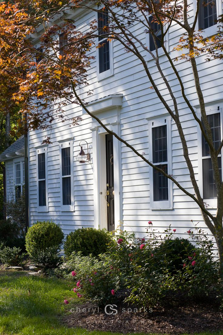 Exterior window trim colonial - Find This Pin And More On Colonial Exterior Trim
