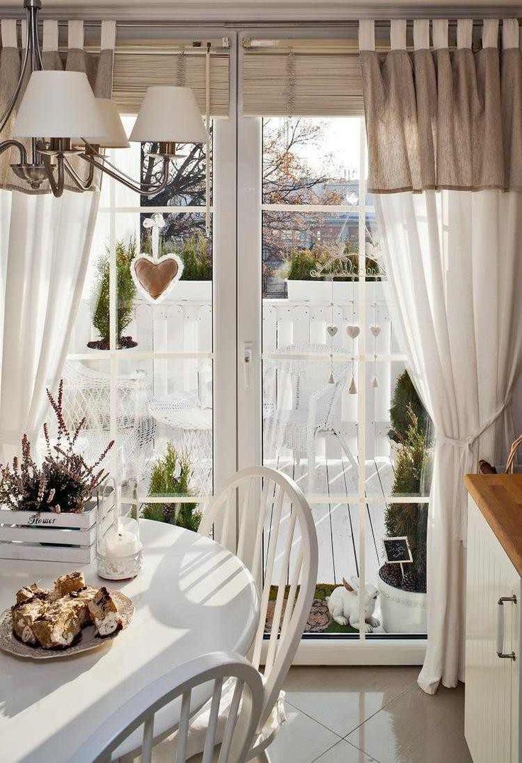 Home decoration autrefois rideaux - 55 Rideaux De Cuisine Et Stores Pour Habiller Les Fen Tres De Fa On Classique Et Moderne