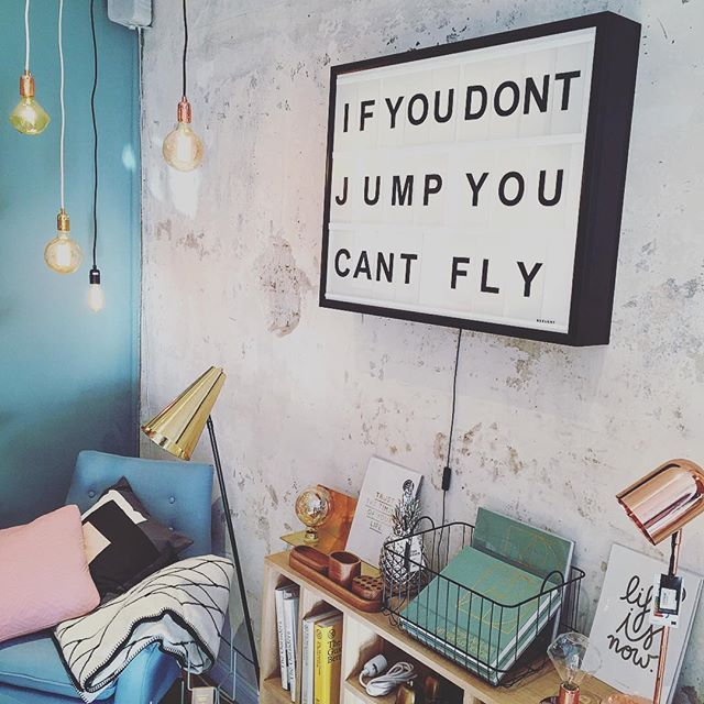 If you don't jump you can't fly