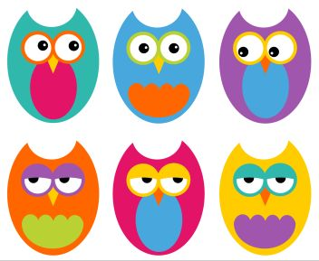 Five Hoot Owls - Free clipart & rhyme. Sunflower Storytime