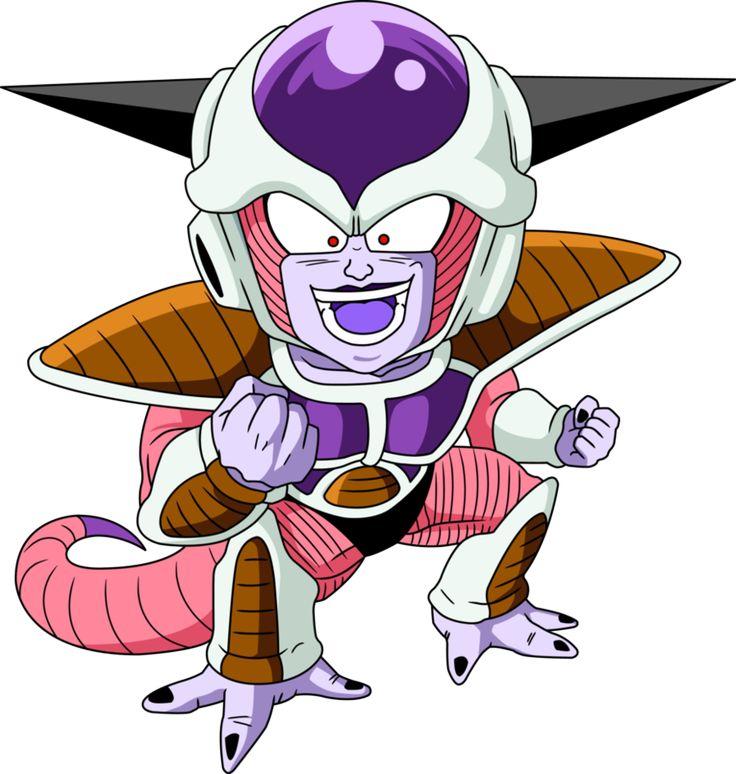 Personajes Chibi de Dragon Ball- Freezer