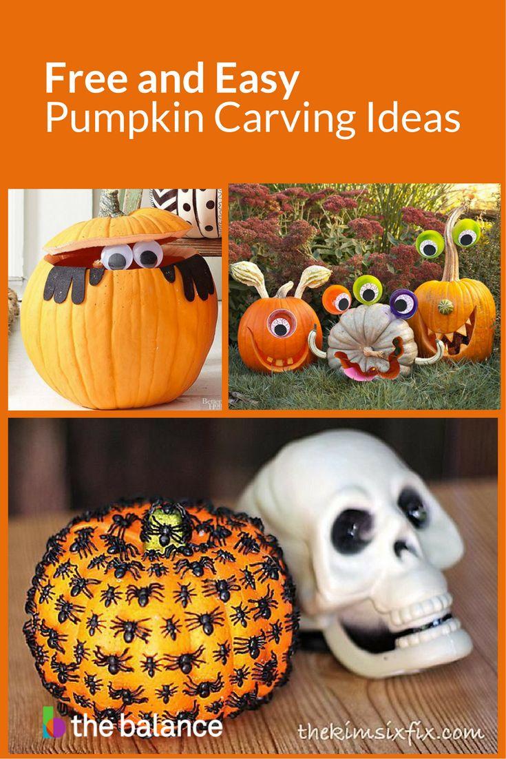 Best 25+ Simple pumpkin carving ideas ideas on Pinterest