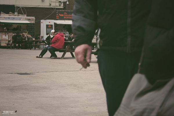 cigarette and people
