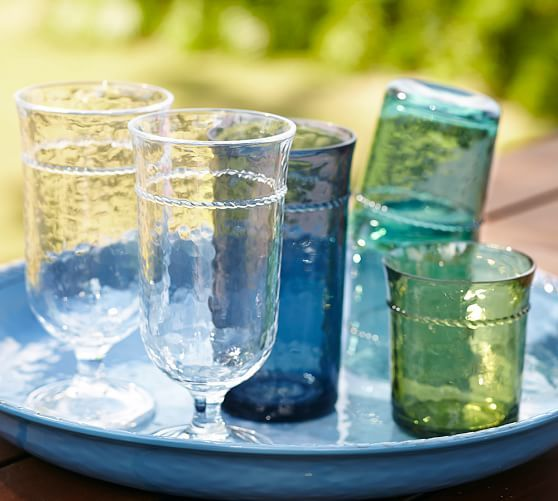 (($) Rope Outdoor Drinkware, Set of 4 | Pottery Barn