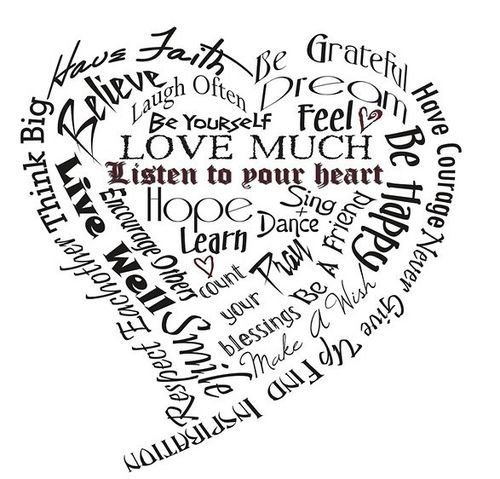 What is your heart saying?