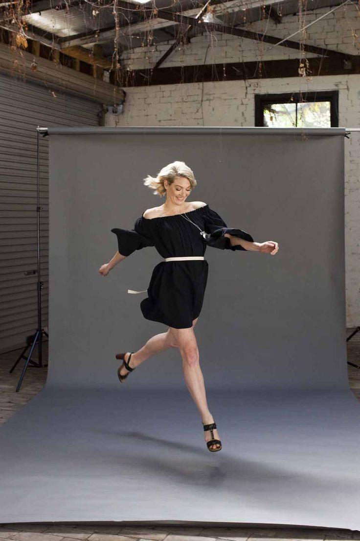Gorgeous Poet Sleeve dress by Gillian Tennant
