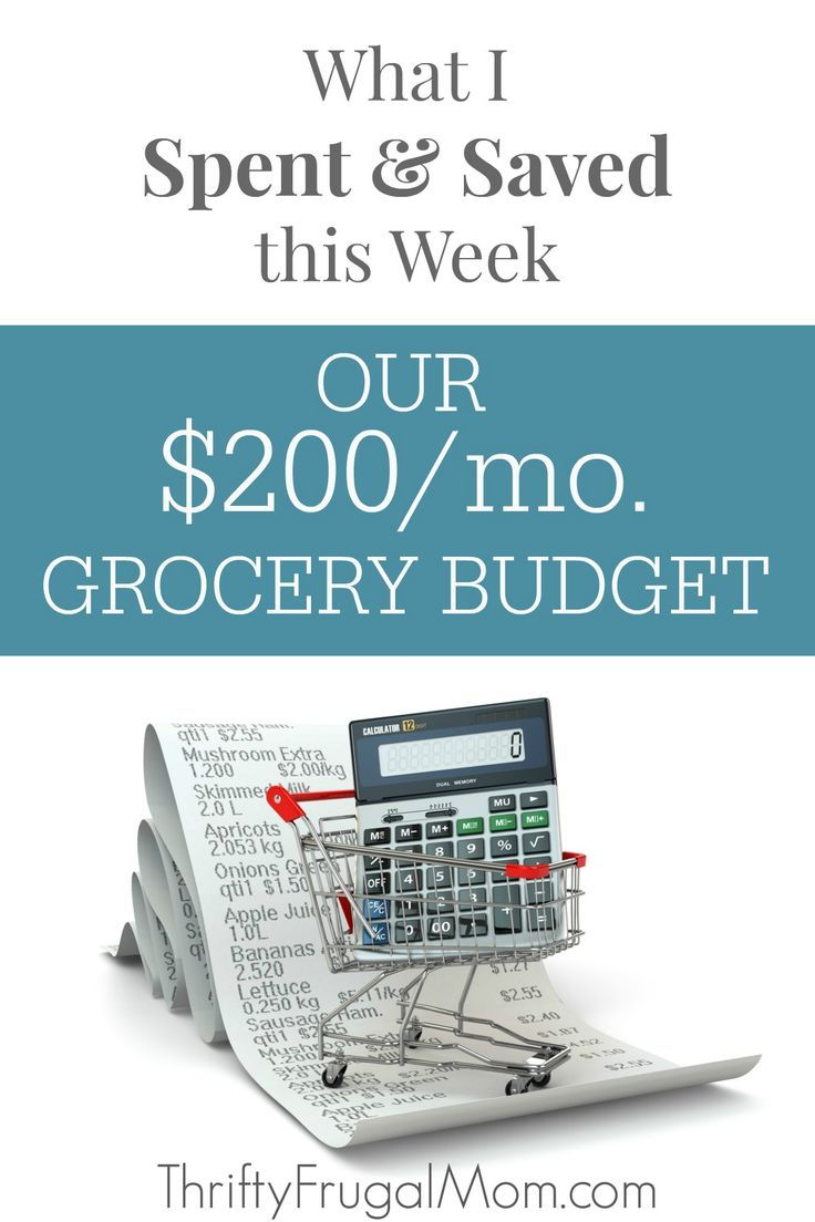 See the details of our $200 a month grocery shopping trips each week and along the way you'll also learn the things that I do to save and live well on a low budget! grocery budgets