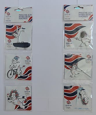 #London 2012 team gb pride the lion #raised #relief magnets,  View more on the LINK: http://www.zeppy.io/product/gb/2/332018199251/