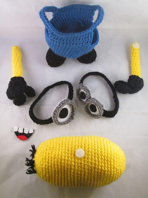 Ravelry: Interchangeable Minion Figures - Despicable Me pattern by Teresa de Roulet