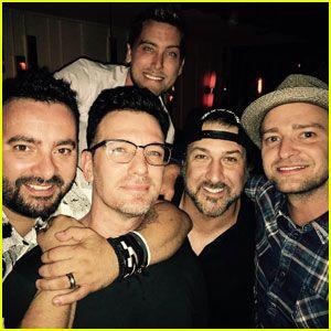 Justin Timberlake & N'Sync Reunite for JC Chasez's 40th Birthday!