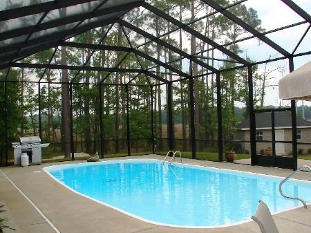 25 best ideas about pool enclosures on pinterest - Swimming pool enclosures ...