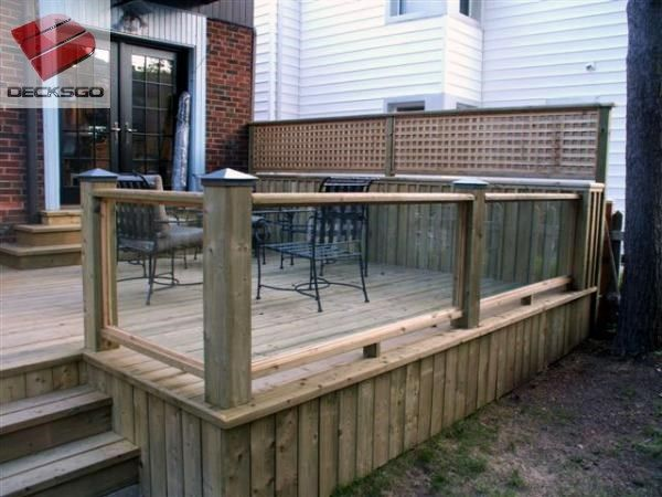 9 best decks and patios images on pinterest patios for Garden decking glass panels