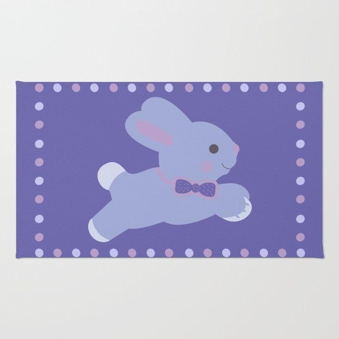 Baby Bunny Area & Throw Rug by Scar Design #rug #kidsrug #babyrug #bunny #poster #bunnyposter #babybunny #baby #babyroom #kidsroom #kids #artprint #homedecor #home #babygifts #nursery #mommy #newbornbaby #newborn #babyboy #babygirl #scardesign #society6 #bebe #layette #cuteposter #animals #cute #gifts #babygifts #society6