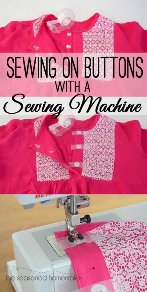 40 Sewing Hacks And Tips SewingTutes Tips Helps Pinterest Enchanting Sewing Machine Tips