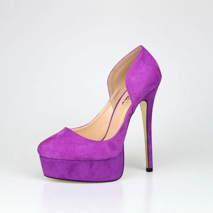Los zapatos de la plataforma de las mujeres del talón de los 16CM que sorprenden los 16CM calzan los zapatos de tacón alto de las mujeres de los zapatos de las mujeres de tacón alto de la manera de las señoras 48 (China (continente))