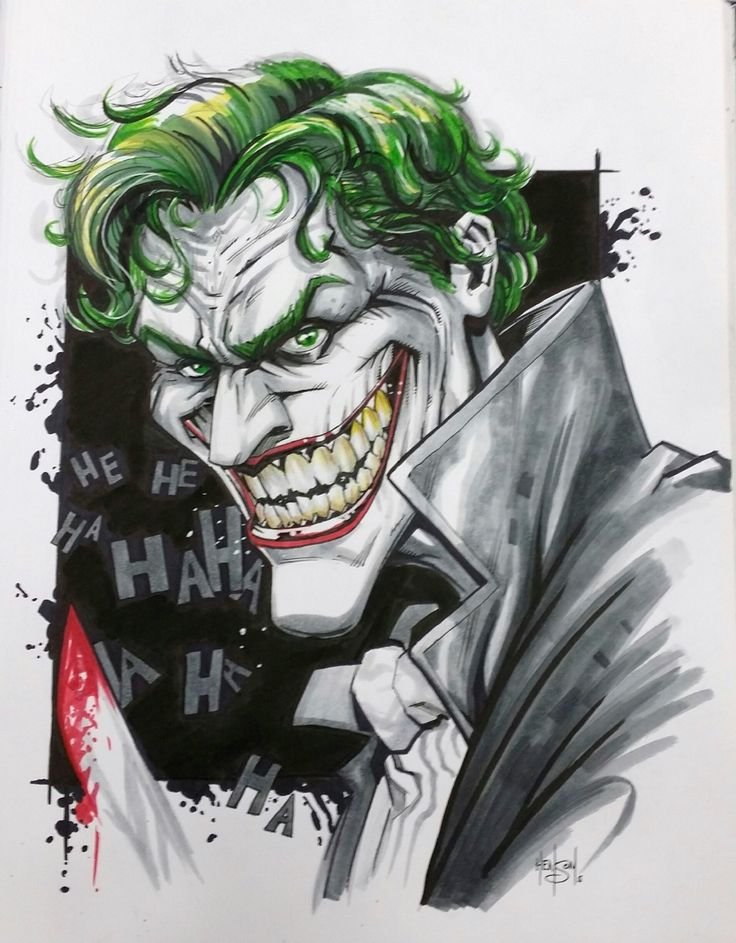 The Joker by Eric Henson | Batman Overload | Pinterest ...