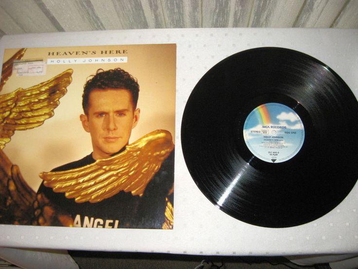 HOLLY JOHNSON - Heaven s Here SynthPop 89 MAXI