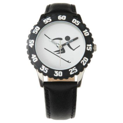 Team Alpine Skiing Watch - accessories accessory gift idea stylish unique custom