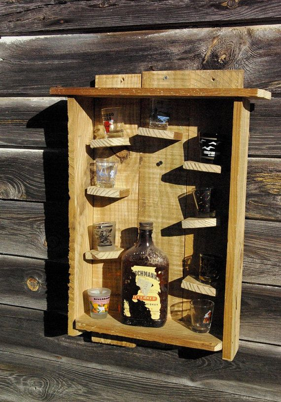 Rustic Shot glass Holder