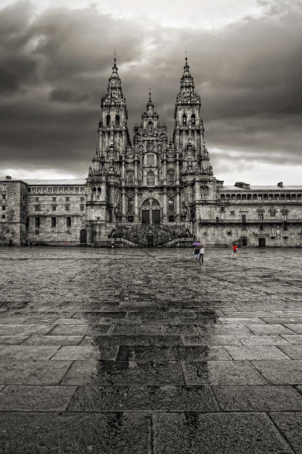 Santiago de Compostela Cathedral by Carlos Gotay, via 500px