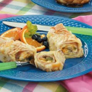 Spring-Ahead Brunch Bake Recipe -This enchilada-style dish for breakfast can be made ahead.—Lois Jacobsen, Dallas, Wisconsin