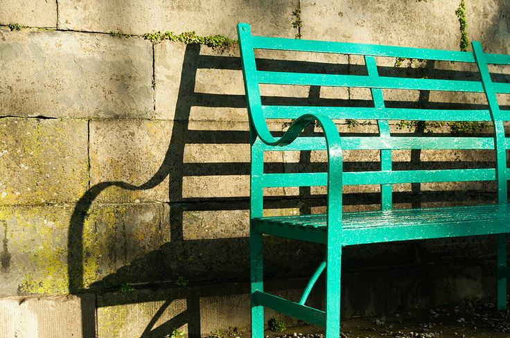Bench at Castletown entrance, Celbridge, Ireland