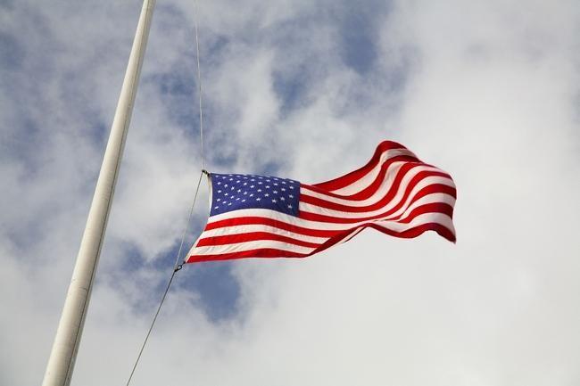 flag half mast memorial day
