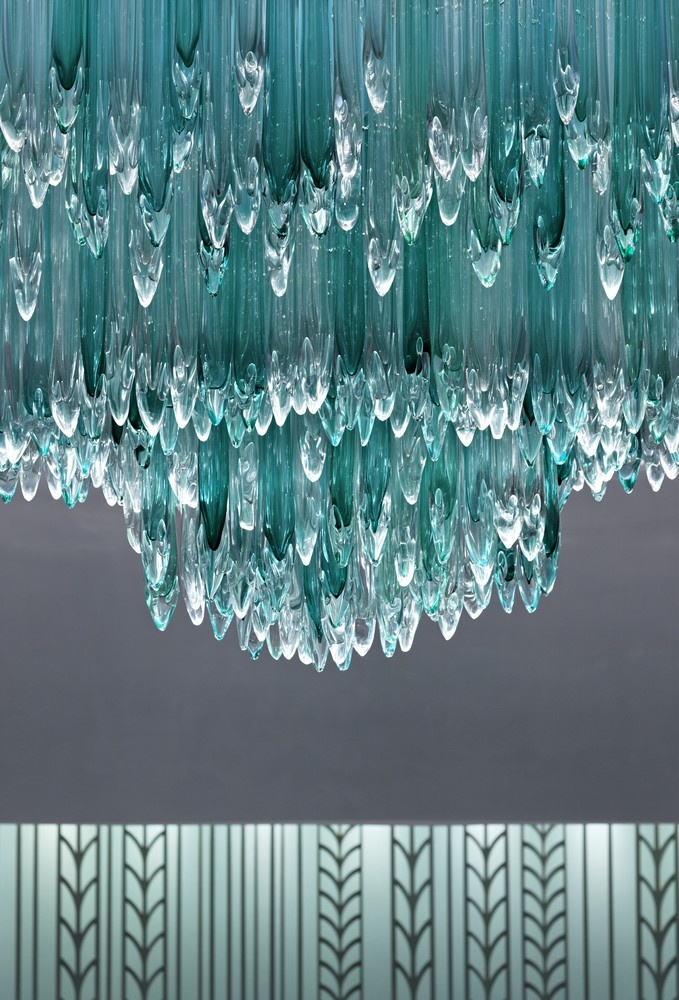 Tiffany & Co. store in Taiwan custom made chandelier...gorgeous!