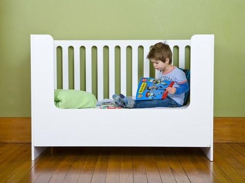 Mocka Amalfi Cot Toddler Bed Conversion