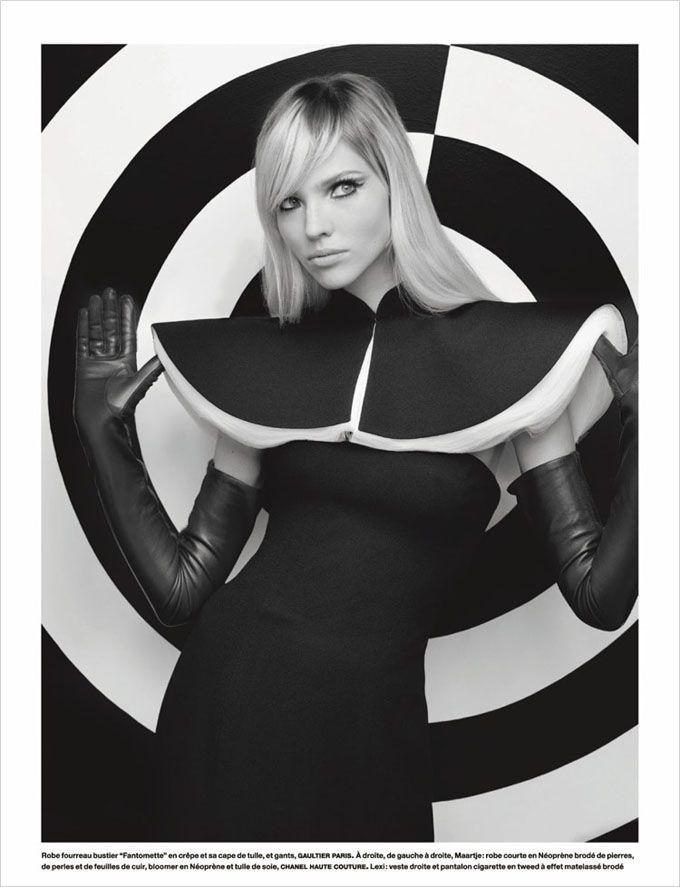 Карл Лагерфельд (Karl Lagerfeld) создал фотосессию для сентябрьского Numero Magazine. Маэстро пригласил ему позировать Сашу Лусс (Sasha Luss), Лекси Болинг (Lexi Boling) и Маарте Верхоф (Maartje Verhoef).