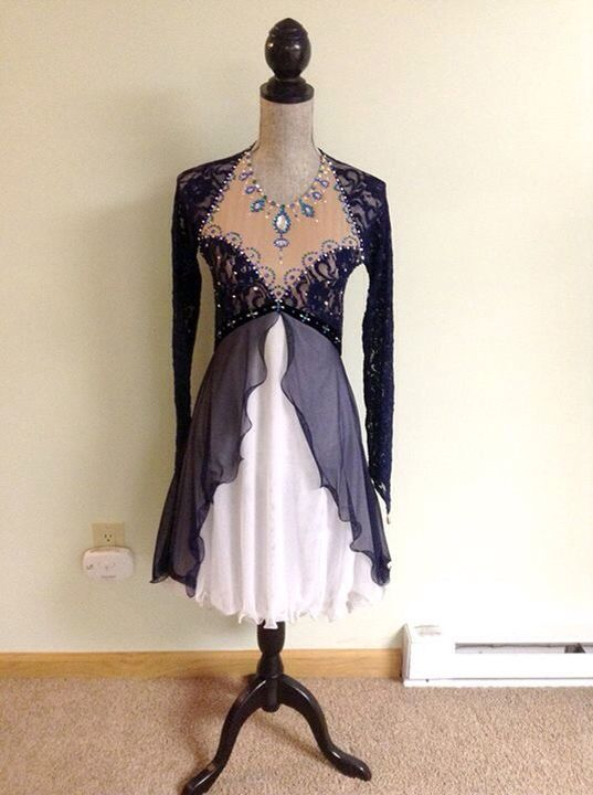 Gorgeous ice dance dress!