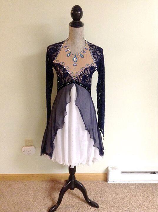 Gorgeous ice dance dress!