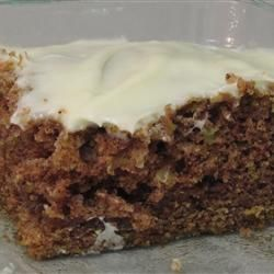"""Green Tomato Cake 