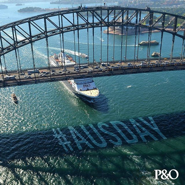This year we are doing Australia Day the P&O way! We've got four ships cruising into beautiful Sydney Harbour between 6 and 8 am for a big celebration of all things Aussie. If you're not going to be onboard don't worry – you can still join in the fun. There is a Tall Ships race at 1pm, a huge fireworks display at 9:30pm and our amazing LEGO event is being held at Museum of Sydney. #pocruises #AusDay  Photo credit by: @jamesmorganphoto