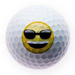 Best4ball Emoji Printed Golf Balls Retirement
