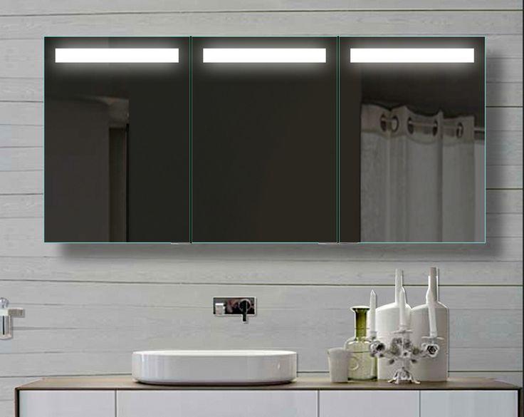 die besten 25+ badezimmer spiegelschrank mit beleuchtung ideen auf ... - Badezimmer Spiegelschrank Beleuchtet