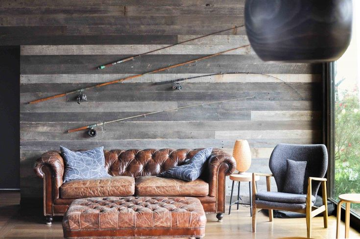These grey face lining boards may be rough (sawn) to the touch but are certainly easy on the eyes. Good news for those trying to wish themselves onto that couch right now, this slice of timber heaven is available for rent on Airbnb. #beachvibes  #timberrevival #recycledtimber #cladding #roughsawn #timbercladding #roughsawncladding #greyface #shiplapcladding #liningboards #gippslandrenovations #beachhousedesign #rusticinteriors #rusticdesign #rustictimber #beachstyle #wemakeoldtimbernew