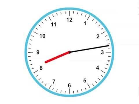 Tijd 1 - Klokkijken, analoge klok (wijzerklok) - de sommenfabriek