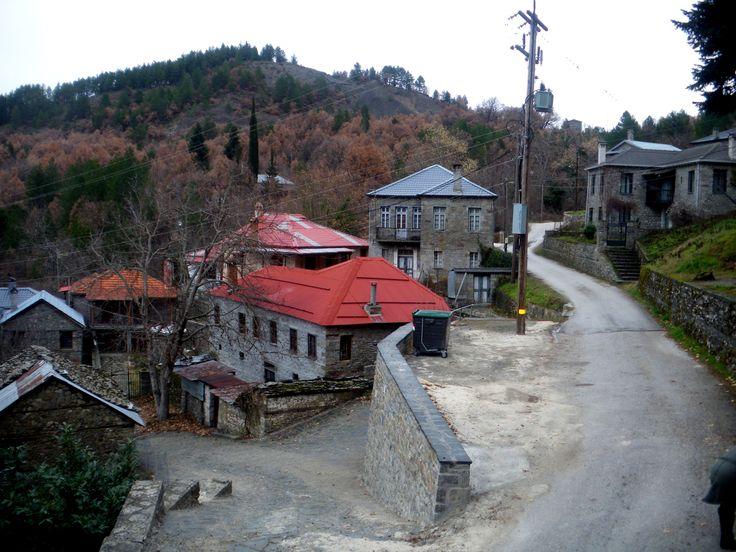 Χωριό Μόλιστα, στην Κόνιτσα