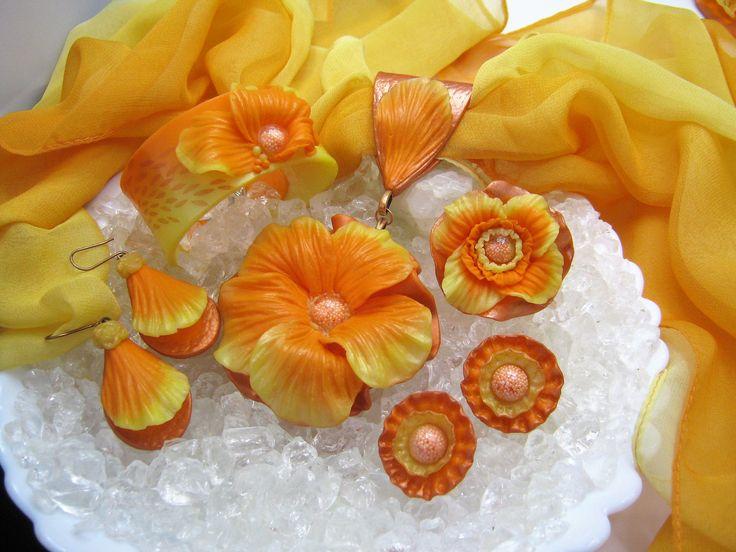Moje souprava v oranžové