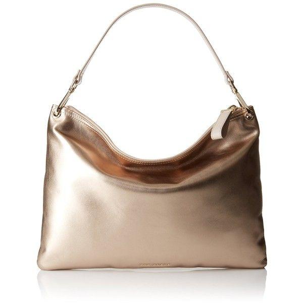 Ted Baker XS6W XBC7 Patrici Shoulder Bag (2.465 NOK) ❤ liked on Polyvore featuring bags, handbags, shoulder bags, white shoulder handbags, shoulder bag purse, shoulder hand bags, white purse and ted baker