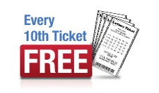 """Playlottoworld.com offers every 10th ticket free of charge as a """"thank you"""" from us. Get more details on  http://www.playlottoworld.com/promotion/"""