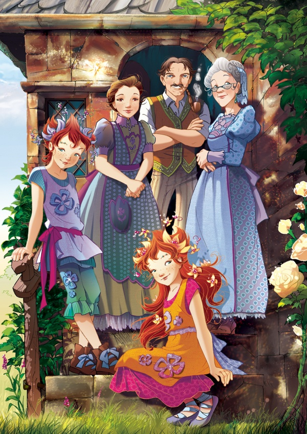 Fairy Oak-The Periwinlkle Family