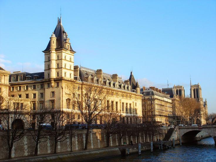 Paris, Consiergerie - Palacio de justicia