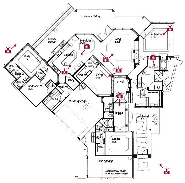 Custom Floor Plans For Homes In Texas