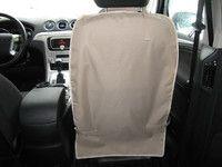 Накидка на спинку переднего сидения цвет бежевый TP-NAK3-BG