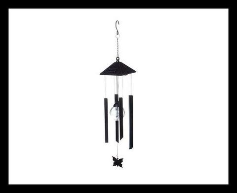 Solar Colour Changing Wind Chime