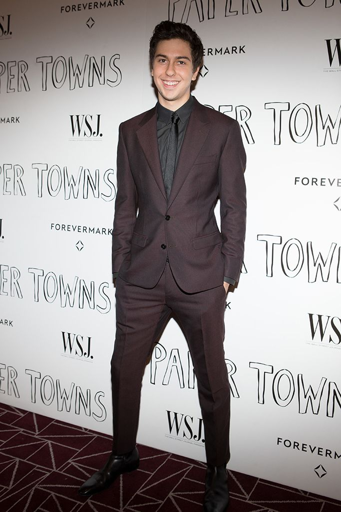 Nat Wolff in Dolce & Gabbana at the Paper Towns screening. [Photo: Kaite Jones]