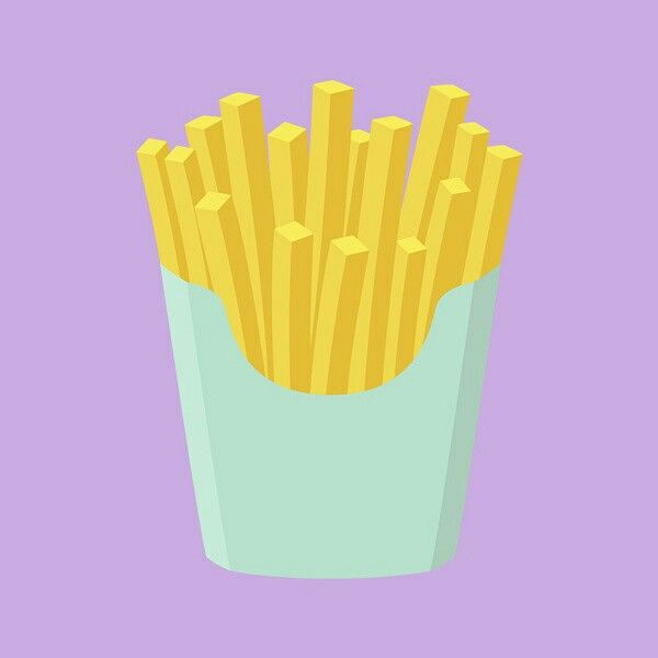 French Fries - Print, Illustration, Graphic Design